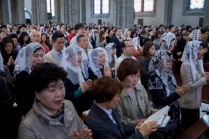 세월호 희생자 위로한 부활절 미사