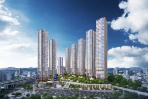 46층 초고층 대단지 '서면 현진에버빌 M시티' 홍보관 오픈