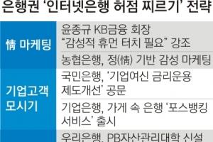"""""""인터넷은행 돌풍 막자""""… 시중은행들의 '新생존법'"""