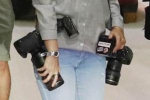 진짜 사진기자를 찾아라... 사진기자 코스프레 중인 경찰채증