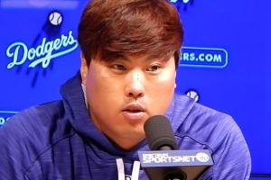 """6이닝 4실점 류현진 """"홈런 맞았지만 피하고 싶은 생각 없었다"""""""