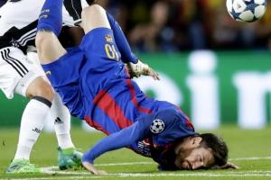 바르셀로나, 유벤투스에 막혀 챔스 4강 실패…유벤투스 1,2차전 합계 3-0 완승