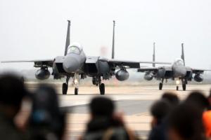 한·미 공군 대규모 훈련