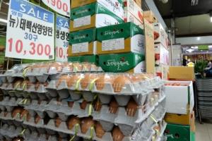 다시 뛴 계란값… 1만원으로 한 판 못 사