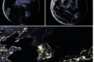 [우주를 보다] 지구 야경 공개한 NASA… 한반도 모습은