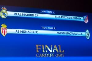 UEFA 챔피언스리그 4강 추첨, 레알 vs 아틀레티코…또 마드리드 더비