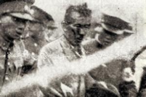 일본군에 연행되는 윤봉길 의사의 당시 모습