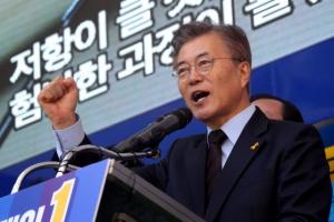 """문재인 """"북한팔이 중단하라""""…'송민순 문건' 공세에 역공"""