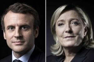 마크롱 60% vs 르펜 40%…프랑스 대선 결선 여론조사 결과