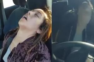 마약 취해 운전석에서 잠들었던 미국 여성 근황