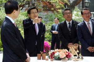 [서울포토] 황교안 권한대행, 해외 인프라기업 및 전문가 간담회 참석