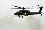 아파치 헬기 첫 공개훈련……
