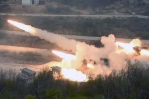 [서울포토] 엄청난 화력 자랑하는 MLRS(M270A1)