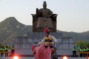 [포토] 대왕님 앞에서 춤판