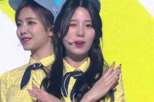 걸그룹 베리굿, 아르바이트생 무대 의상으로 '화제 집중'