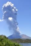 日 사쿠라지마 화산섬 '폭…