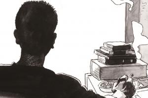 국보급 만화가의 책상을 만나다···오세영 1주기 추모전