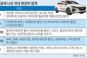 자동차업계, 가정의 달 맞이 '할인 대전'