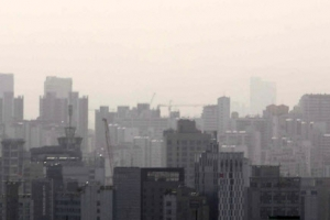 오후 1시 기준 전국 11개 권역 미세먼지 경보