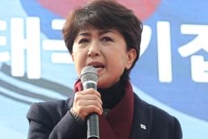 """정미홍 """"문빠는 나라 망치는 깡패집단"""""""