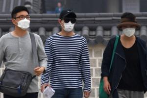 [서울포토] 중국발 황사 발생… 미세먼지 나쁨