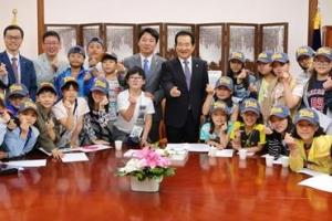국회 방문한 'LH 꿈나무 프로젝트' 어린이들