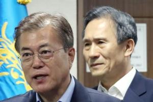 """문재인 대통령 """"북한 무모한 도발 유감, 엄중 경고···단호한 대응"""""""