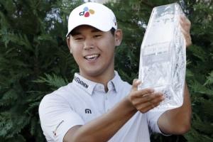 '한국 골프 희망' 김시우, 플레이어스 챔피언십 최연소 우승