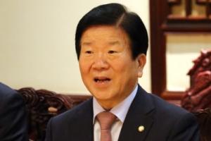 """박병석 """"시진핑 주석과 별도 면담...한중관계 관심 표명"""""""