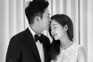 """성유리, 골퍼 안성현과 결혼…""""조용하고 경건하게 하고 싶었다"""""""