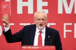 [포토] 연설하는 제러미 코빈 영국 노동당 대표