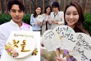 [서울포토] 신세계 면세점 명동점 오픈 1주년 돌잔치