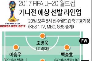신태용호, 20일 기니전 U-20 월드컵 '4강 재현' 첫 걸음