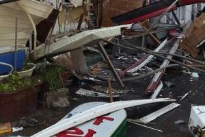 충주 상가건물서 LP가스 폭발…중국인 세입자 전신 2도 화상