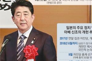 """[글로벌 인사이트] """"연내 독자안 마련""""… 아베, 국회 협의 없이 '개헌 마이웨이'"""