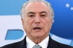 브라질 검찰, 테메르 현직 대통령 부패 혐의로 기소
