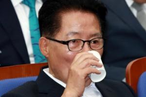 """박지원 """"민주당과의 통합 고려하지 않아"""""""