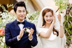 윤소이♥조성윤, 결혼식 사진 공개