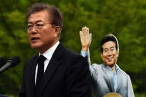 [서울포토] 봉하마을 찾은 문재인 대통령