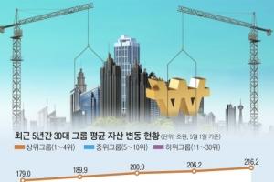 [김&장 시대] 30대 기업도 富의 양극화… 그룹별 차등 규제 방점