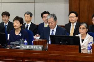 박근혜 오늘 3차 공판, 최순실과 나란히…첫 증인심문 예정