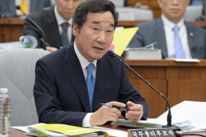 [서울포토] 의원들 질의에 답변하는 이낙연 후보자