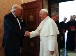 트럼프, 교황과 첫 만남에…
