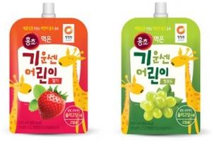 대상 청정원, '천연과즙의 맛' 즐기는 어린이용 식초음료