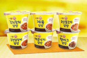 오뚜기, 카레·컵밥… 국가대표 즉석 요리 라인업