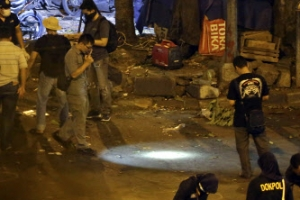 자카르타서 자살폭탄 테러…경찰관 3명 사망·10명 부상