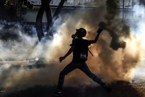 [포토]갈수록 격해지는 베네수엘라 시위대