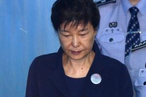[서울포토] 법정으로 향하는 박 前 대통령