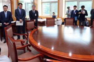[서울포토] 대통령 새 집무실 어떤가 보니...검소와 소박