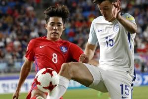 [U20월드컵] 한국, 잉글랜드에 0-1 패배…'A조 2위로 16강'